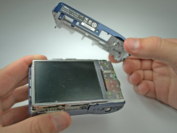 Nikon Coolpix L18 Back Cover Replacement