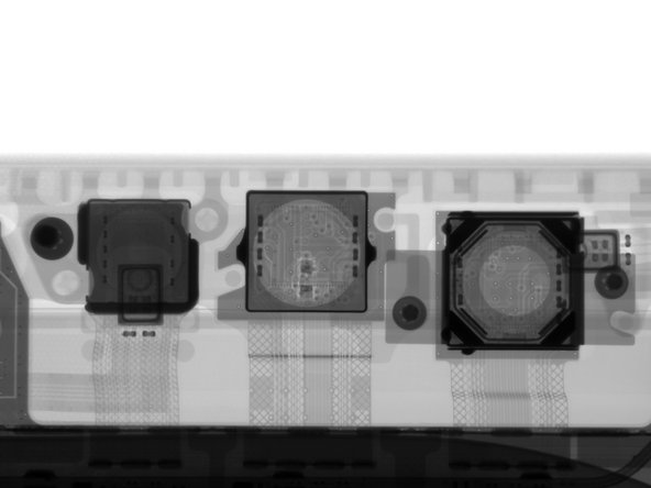 On the rear of the new Surface, we find a familiar arrangement of circles—the 8 MP rear-facing camera accompanied by a status LED and microphone.