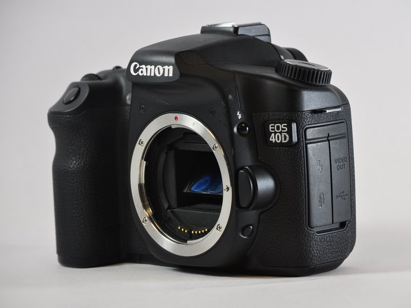 Canon eos 40d troubleshooting ifixit