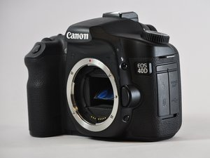 Canon EOS 40D Troubleshooting