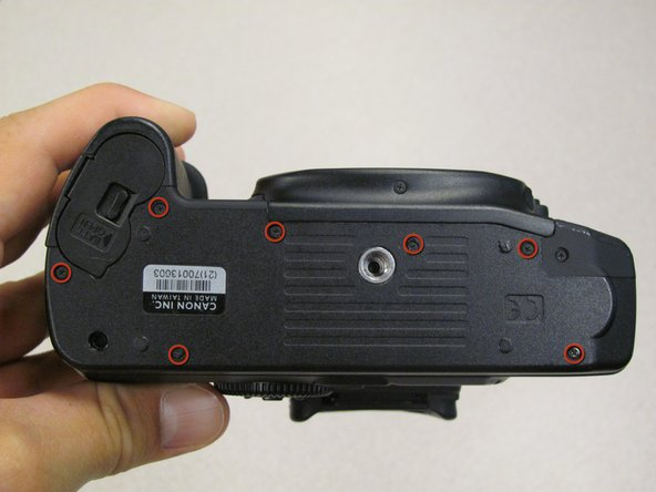 Canon EOS 30 Bottom Panel Replacement