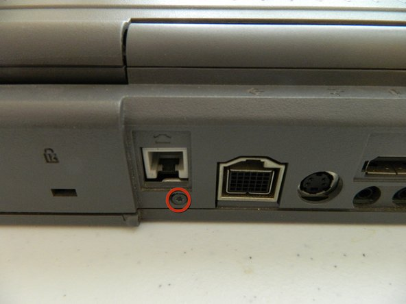 There are 5 Torx T8 screws that hold the bottom of the PowerBook 180.
