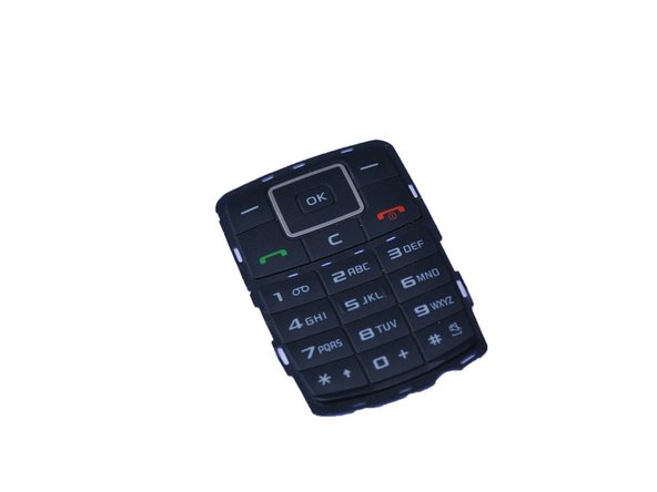 Replace the defective keypad and reassemble the phone.