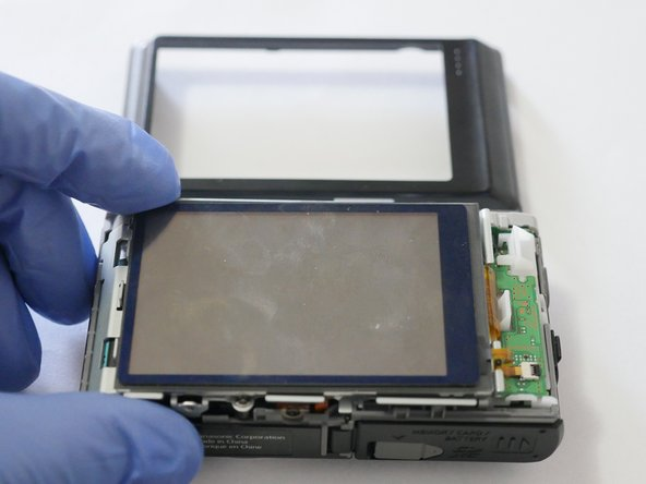 Once LCD is free of casing, remove Rear Case.