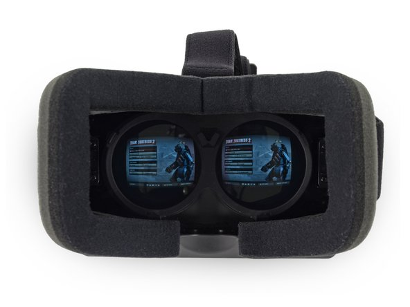 Image 2/3: One of the most innovative technologies brought about by the Rift is its head tracking capability. Accomplished with a gyroscope, accelerometer, and magnetometer, the Rift allows for 3 degrees of freedom so you can look around the virtual world without having to move your entire virtual body.