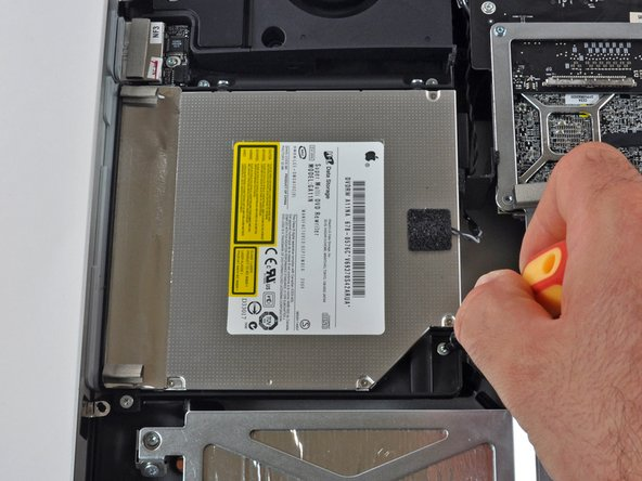 This may be the most underwhelming component in this iMac, the 8x SuperDrive.