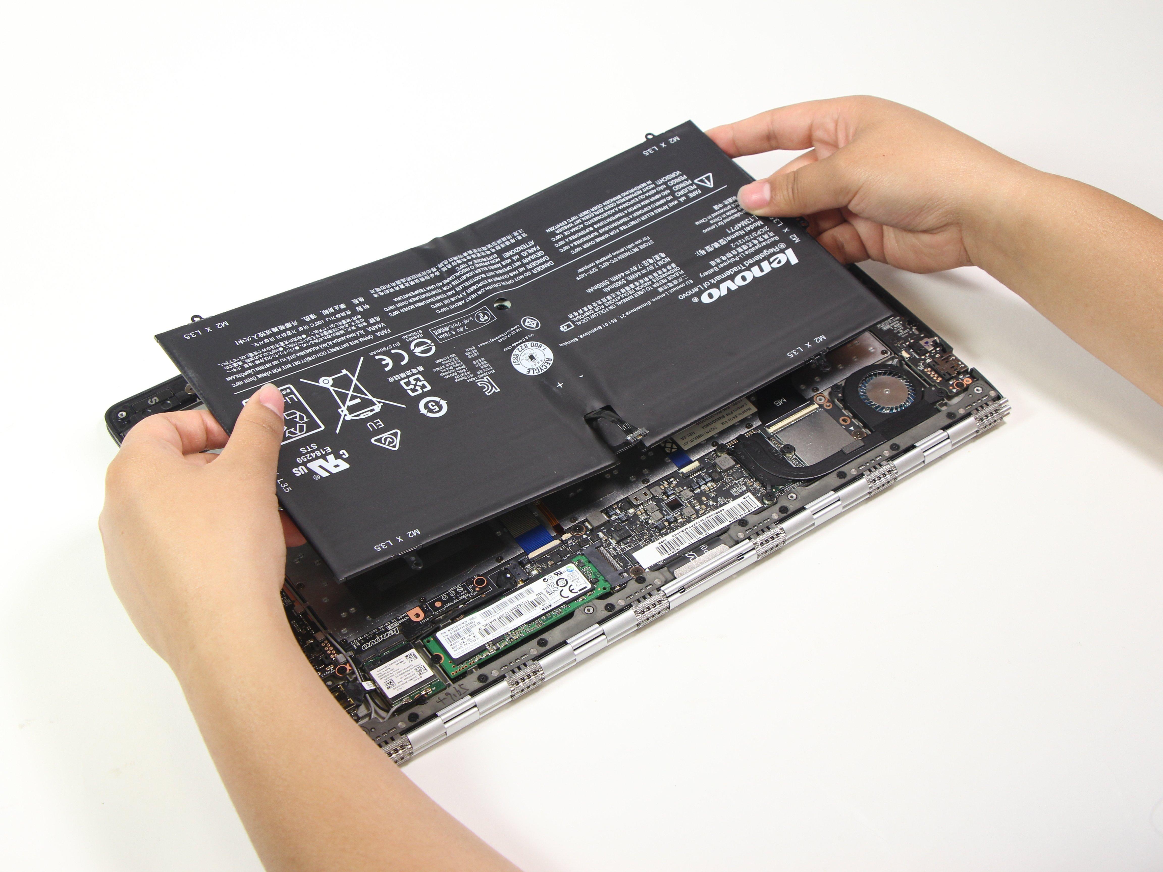 מסודר Lenovo Yoga-900-13ISK2 Battery Replacement - iFixit Repair Guide GK-36