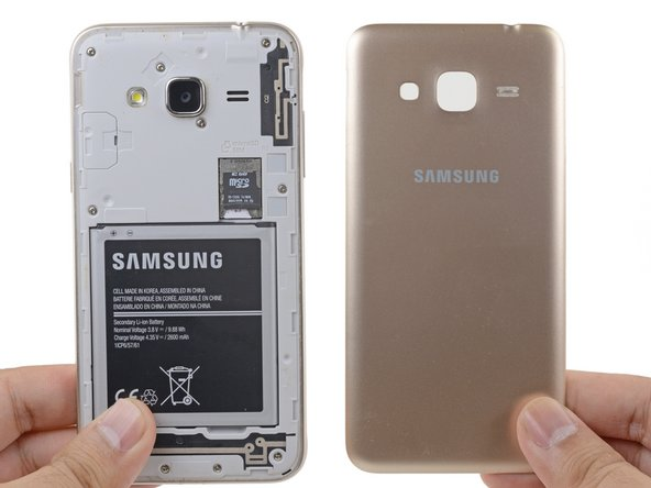 Samsung Galaxy J3 (2016) Rear Cover Replacement
