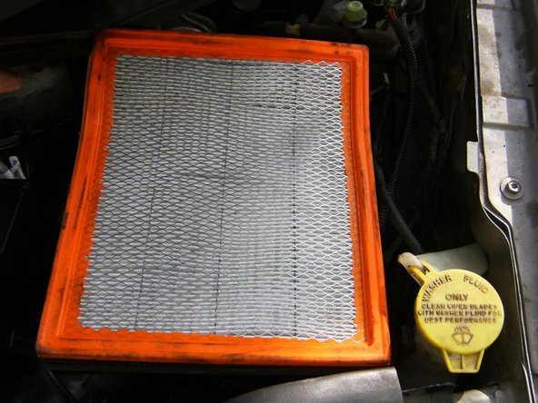 Remove the air filter