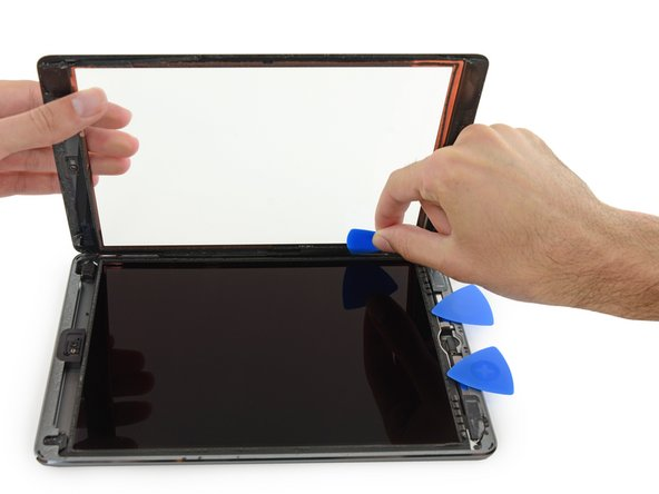 Reemplazo del panel frontal del iPad Air Wi-Fi