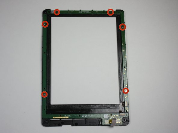 Flip the bezel over to view the circuit board.