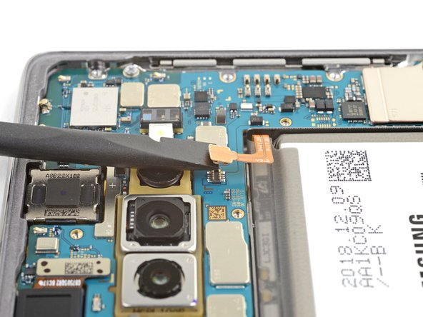 Samsung Galaxy S10+ Ontkoppeling van de batterij