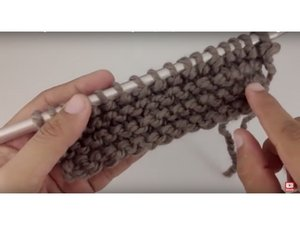 How to Garter Stitch