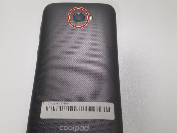 Coolpad Defiant Rear Camera Replacement