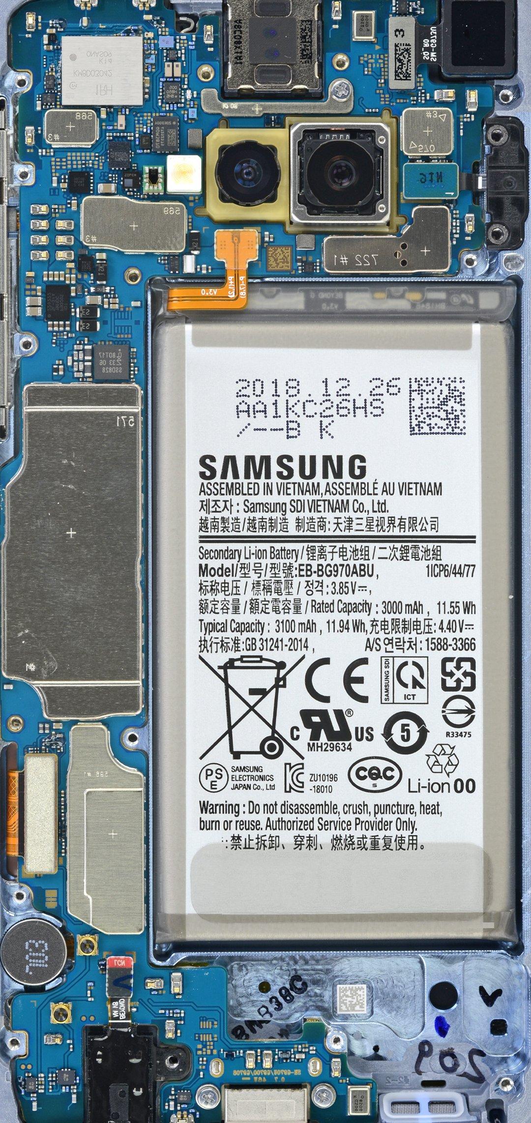 Samsung Galaxy S10 S10e Teardown Wallpapers Ifixit