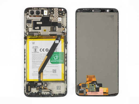 OnePlus 5T AMOLED Screen & Digitizer Replacement