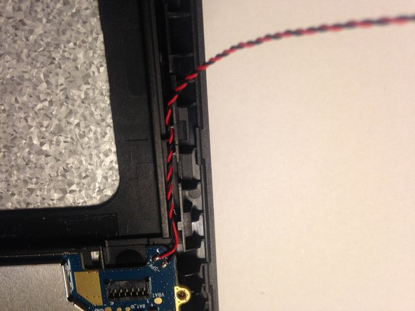 Image 1/3: Set the speaker out of the way. On top of the silver microchip cover on the main pcb is a great place for it.