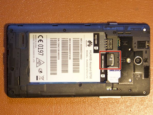 Huawei Ascend G700 SD Card Replacement