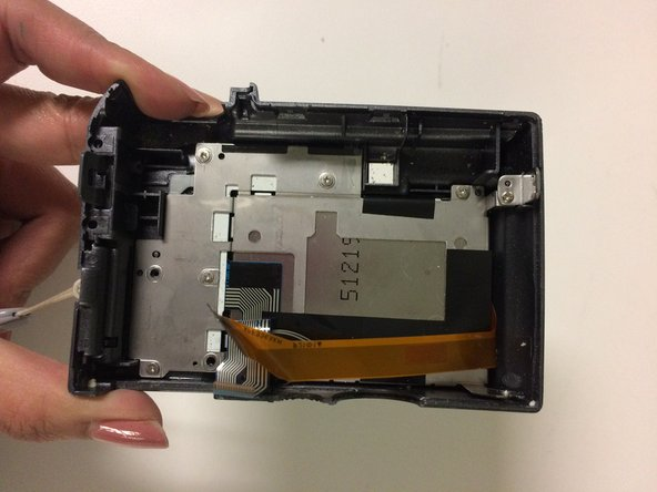 You have detached the back casing and LCD screen.