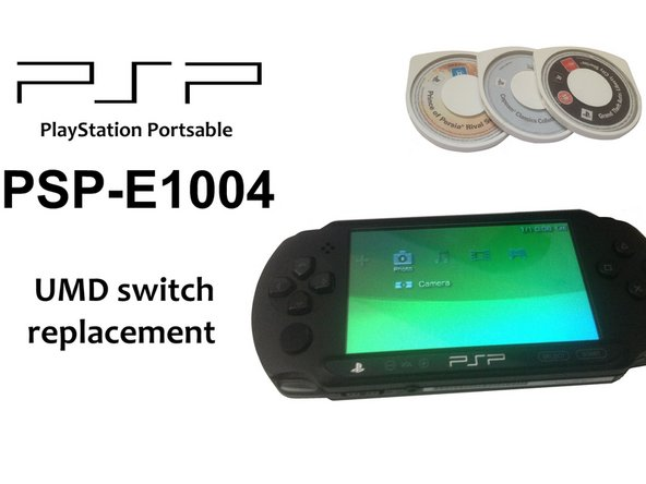 PSP E1000 UMD switch Replacement
