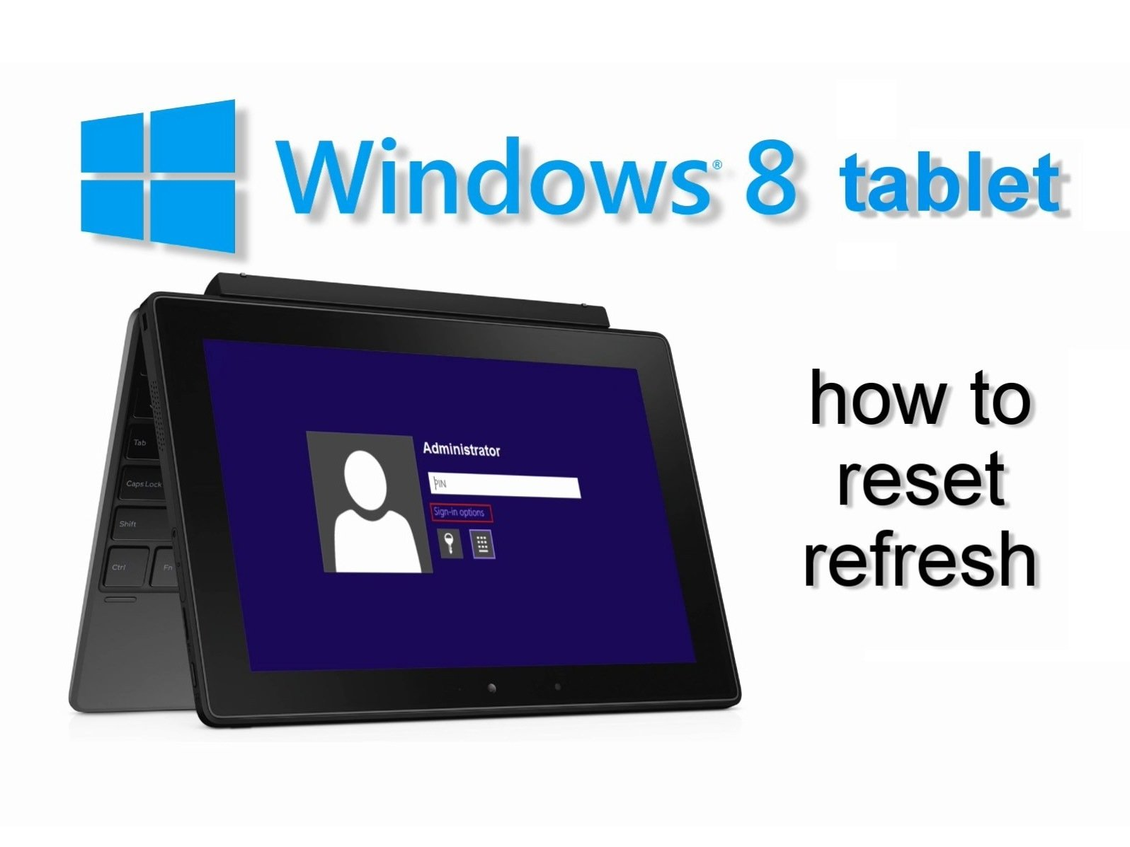 how to factory reset a asus laptop windows 8