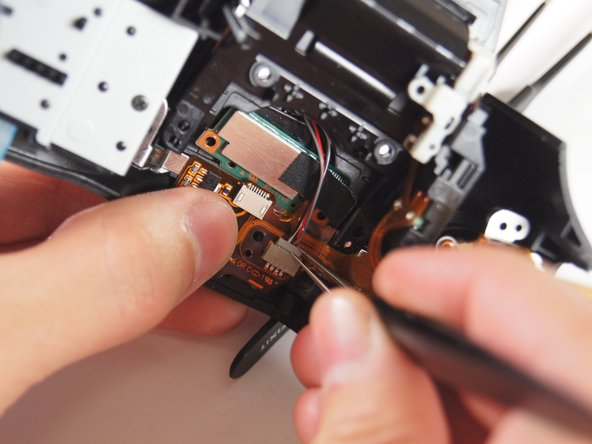 Slowly disconnect the wire from the board using your hands or with tweezers. It may take some wiggling. Try pulling from both sides to disconnect the wires more easily.