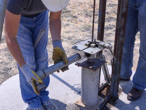 Bush Pump Spout Replacement