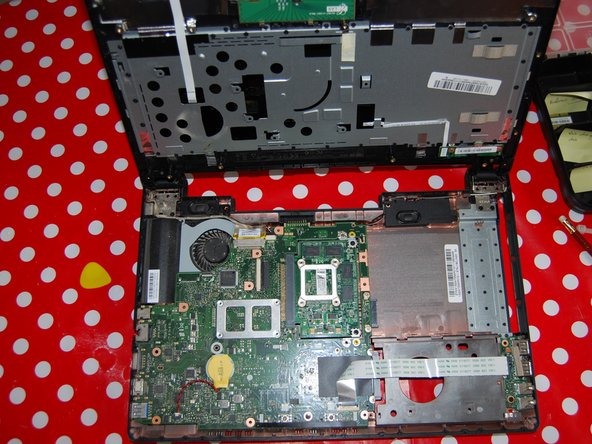 Image 3/3: We now have access to the motherboard.