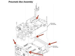 Newport e500 Pneumatic Box Disassembly