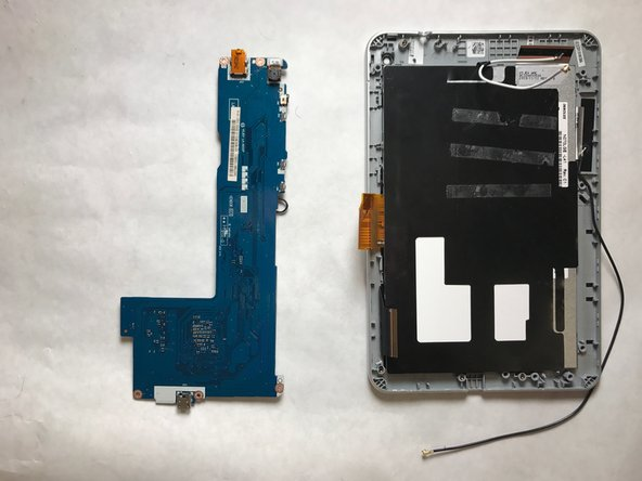 Pull the mother board off of your tablet