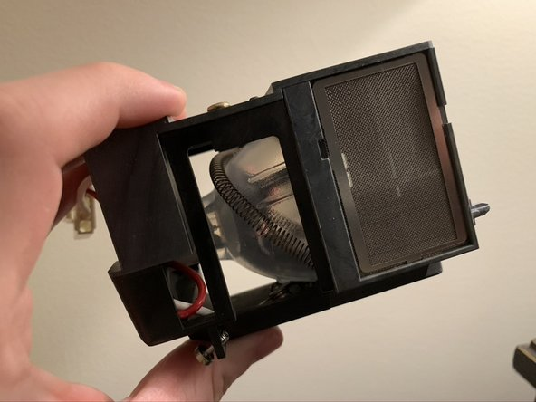 How to Clean the InFocus X2 Lamp Housing Screens