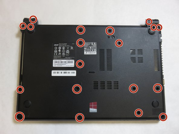 Remove nineteen screws from the back panel using a Phillips #0 Screwdriver .