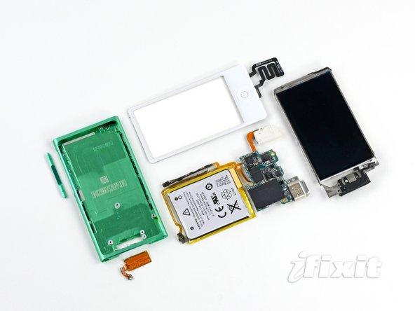 iPod Nano 7th generation teardown