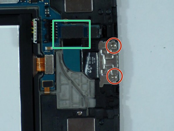 This step is only if you want to replace the micro USB port flex cable.