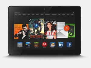 "Kindle Fire HDX 7"" Troubleshooting"