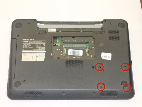 Dell Inspiron M5010 Hard Drive Replacement