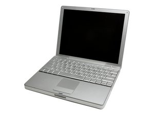 "PowerBook G4 Aluminum 12"" 1-1.5 GHz 수리"