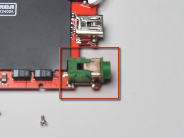 Start using solder/desolder tools to remove the DC power adaptor.