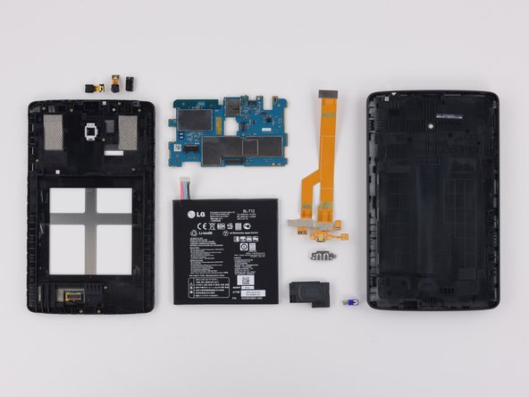 The LG G Pad 7.0 earns an 8 out of 10 on our repairability scale (10 is the easiest to repair):