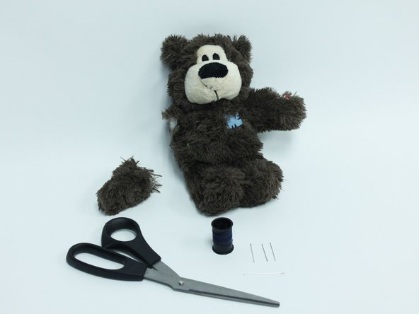 How to Reattach a Limb to a Stuffed Animal