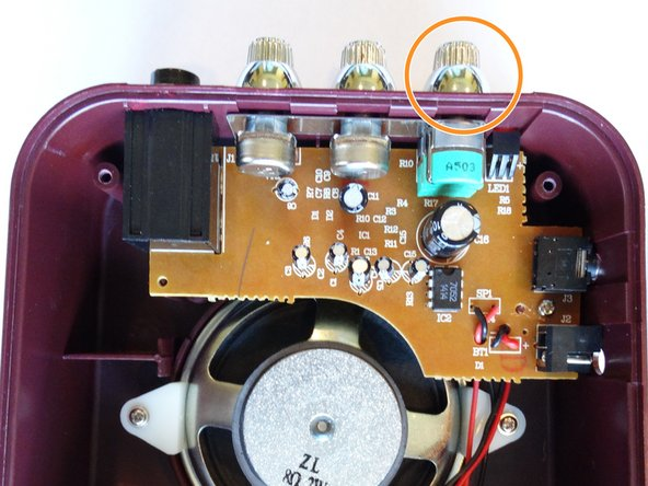 Image 1/1: Some static is fine, this is the natural sound of the amp.