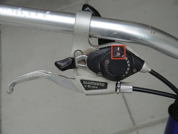 Shift the bike into the highest numbered gear.