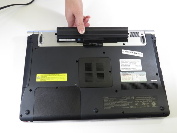 Sony VAIO VGN-FW 590 Battery Replacement