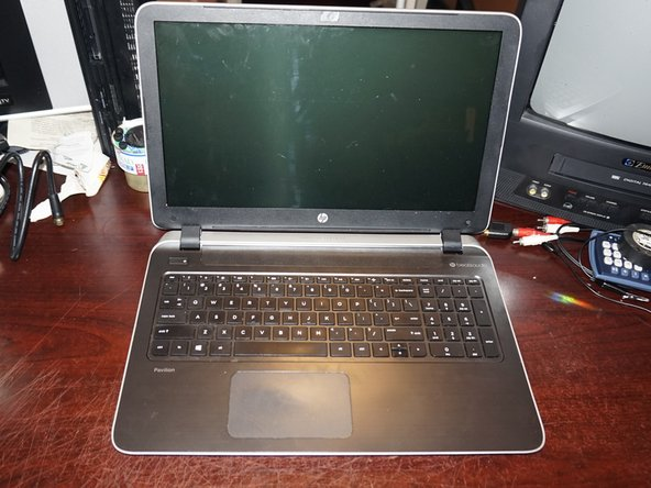 HP Pavilion 15 P Series Palmrest Replacement