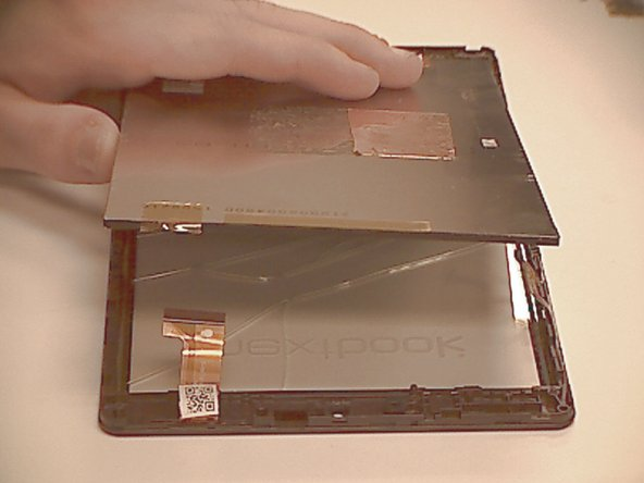 Gently separate the LCD from the frame