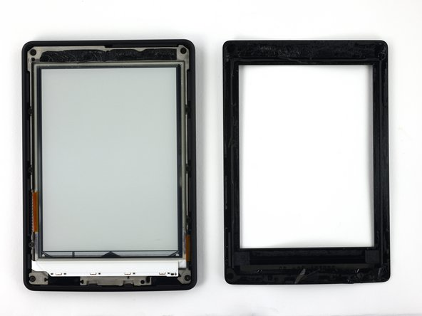 An opening pick and an iFixit opening tool were the only tools needed to remove the bezel.