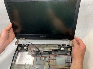 Asus GL551JW-AH71 Display Assembly Replacement