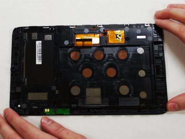 Now that your screen is detached from the rest of the device components, it is ready to be replaced.