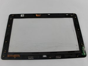 Digitizer touch screen