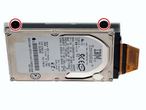 PowerBook G4 Titanium Onyx Hard Drive Replacement